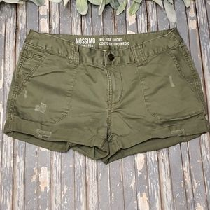 Mossimo Supply Co. Mid-Rise Short - Sz 2